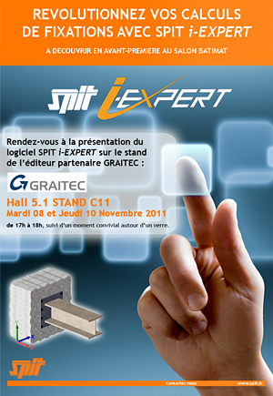 Graitec au  Salon BATIMAT