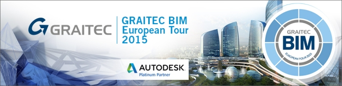 Invitation GRATUITE au GRAITEC BIM European Tour 2015